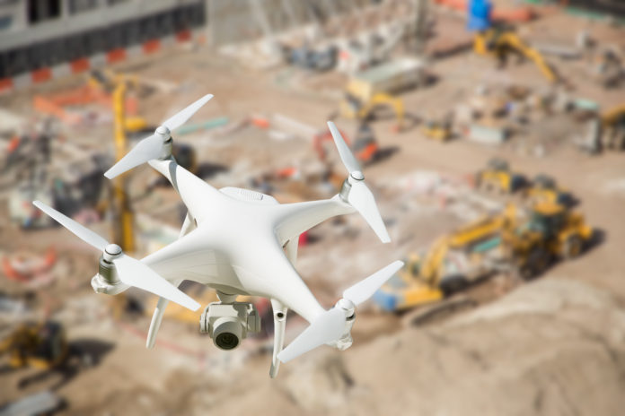 Few benefits of using drones in construction