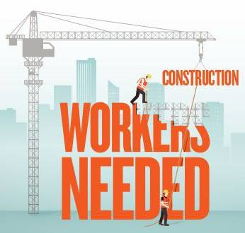 Employee shortage in the construction industry