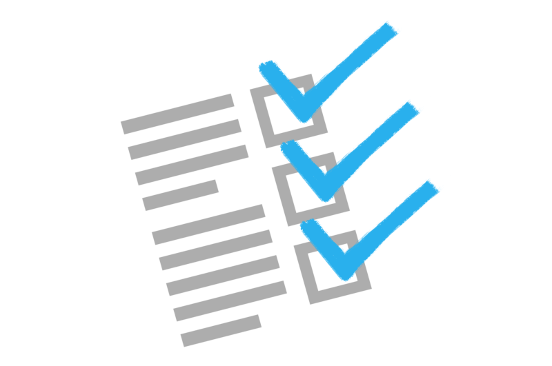 Checklisting your way to accuracy